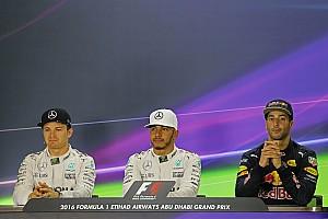Formula 1 Press conference Abu Dhabi GP: Post-qualifying press conference
