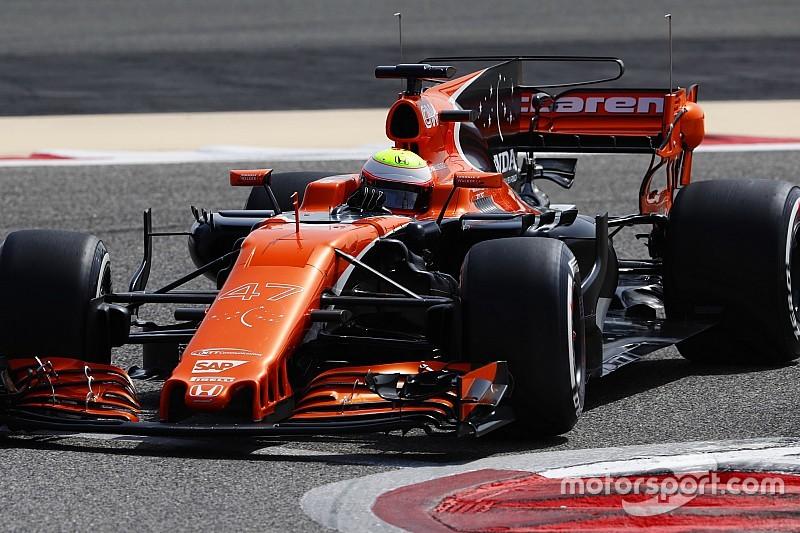 Honda, de nuevo con problemas tras sólo dos vueltas en el test de Bahrein