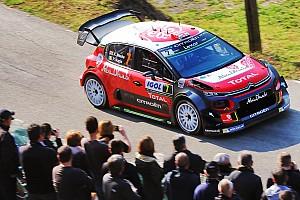 WRC レグ・レポート 【WRC】フランス初日午前:ミーク首位。ハンニネンはクラッシュ炎上