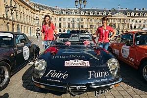 Vintage Artículo especial 100 equipos inscritos en el Richard Mille Rallye des Princesses en Francia