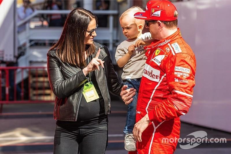 Fiocco rosa in Ferrari: è nata Rianna, la figlia di Raikkonen
