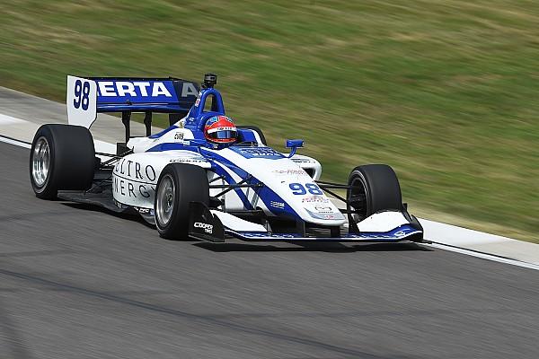 Indy Lights Herta gana sin problema la carrera 2 de Indy Lights