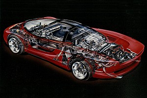 Automotive Breaking news Mid-engine Corvette Indy cutaway shows what could've been