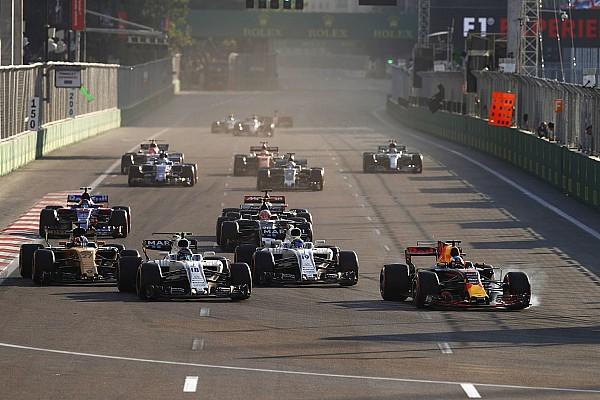 Формула 1 Новость Гран При в Баку стал лидером по количеству обгонов в сезоне