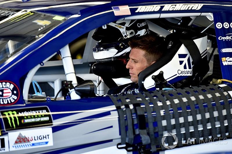 McMurray tops first NASCAR Cup practice at Kentucky