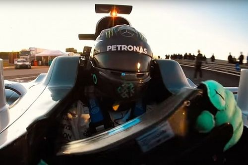 """Rosbergs Handschuh-Trick: """"Vergessen"""", es Hamilton zu sagen"""