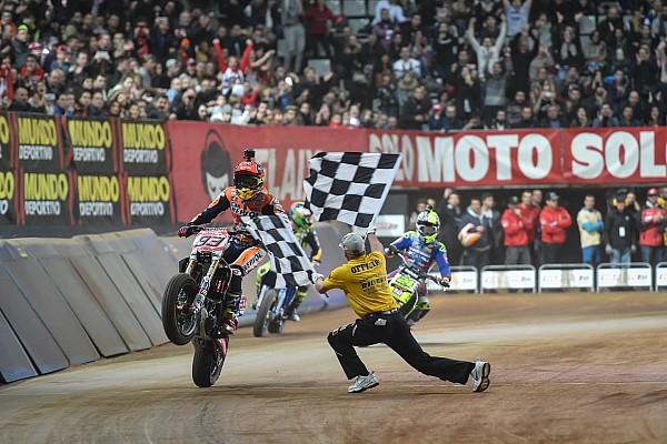 Bike Отчет о гонке Маркес во второй раз выиграл Superprestigio