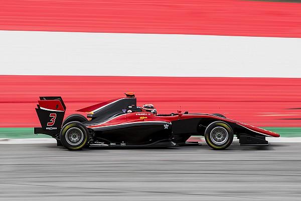 Расселл впервые в карьере выиграл гонку GP3