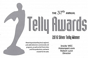 Motorsport.com Earns Multiple Telly Awards  for Best Web Series