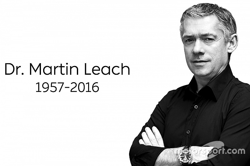 NextEV boss Martin Leach passes away after battle with cancer