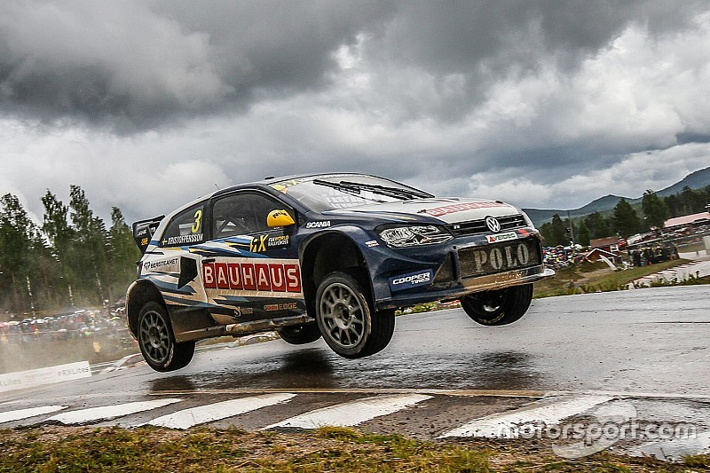 Sweden WRX: Kristoffersson keeps lead as qualifying concludes