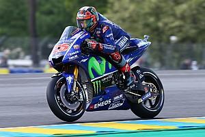 MotoGP Отчет о квалификации Виньялес завоевал поул Гран При Франции