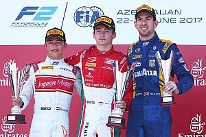 FIA F2 Raceverslag F2 Baku: De Vries pakt tweede plaats in chaotische hoofdrace