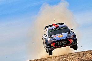 WRC Prova speciale Sardegna, PS17: volano le Hyundai, risposta di Tänak a Latvala