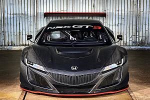 GT Nieuws Van der Zande onder de indruk van Honda NSX GT3
