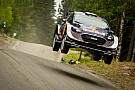 WRC Ogier hits trouble in Finland