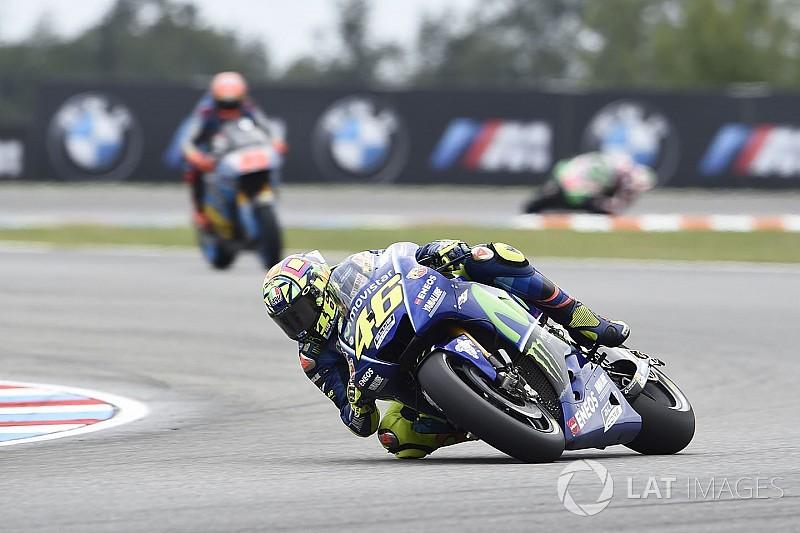 【MotoGP】ブルノ合同テスト:首位ロッシ、0.018秒差でマルケス破る