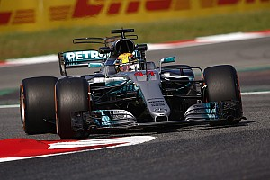 Formula 1 Practice report Spanish GP: Hamilton leads Mercedes 1-2 in FP1