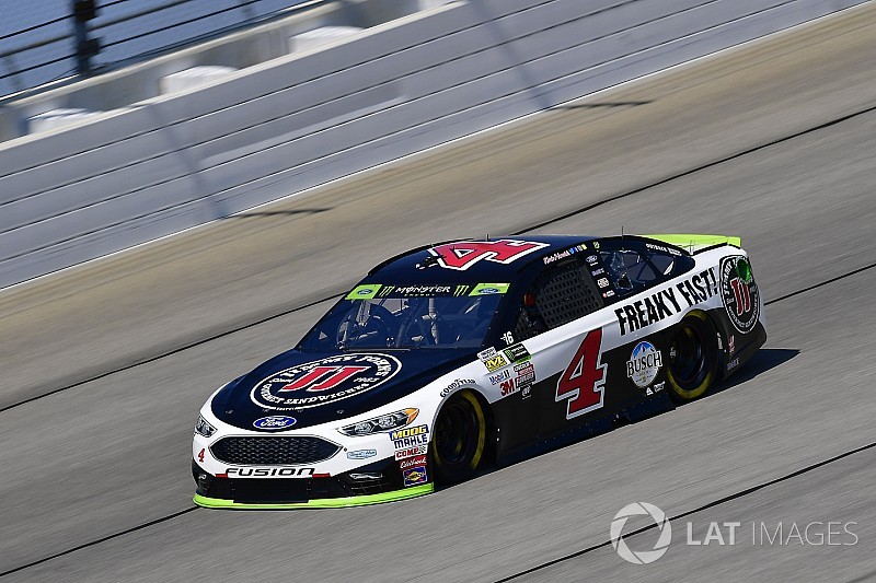 """Harvick on podium: """"We finished right where we should have"""""""