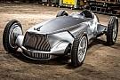 Automotive Infiniti Prototype 9, un concept monoplaza y eléctrico, con imagen retro