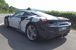 Automotive Breaking news Mysterious Ferrari 488 spied near the Nurburgring