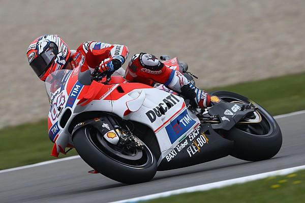 FP3 MotoGP Belanda: Dovizioso ungguli Marquez, Lorenzo terjatuh