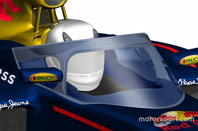 "Red Bull cockpit protection ""better"" than Ferrari Halo"