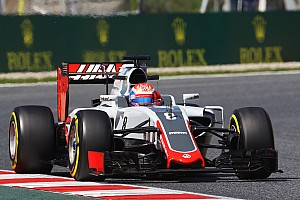 Formula 1 Qualifying report No Q3 for the Haas F1 Team at Barcelona