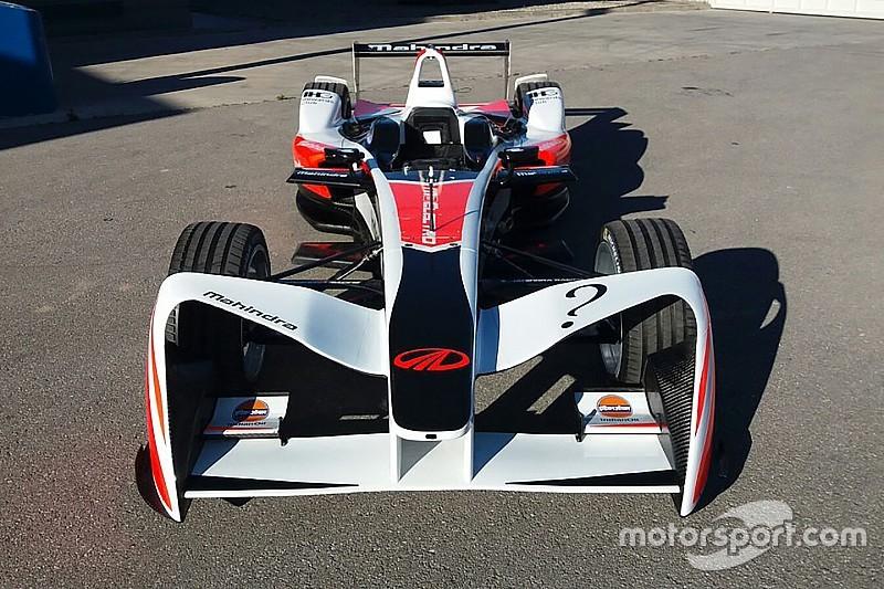 تصميم جريء للجانح الأمامي يعطي سيارات فورمولا إي الكهربائية مظهراً جديداً