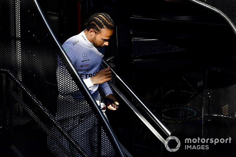 Hamilton tried new methods to bulk up for 2019
