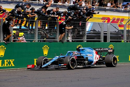 Alpine knew Ocon would win Hungary F1 race three laps from the end