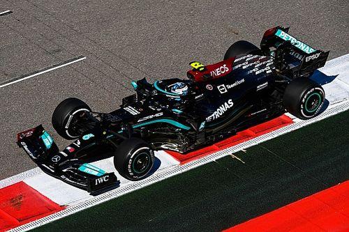F1: Mercedes mostra força novamente e Bottas comanda dobradinha no TL2 para o GP da Rússia; Verstappen é 6º
