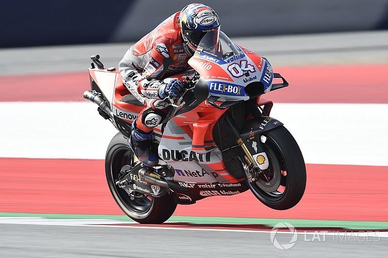 FP1 MotoGP Austria: Dovizioso pimpin pasukan Ducati