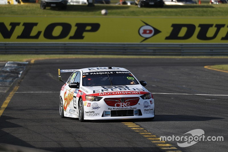 Sandown 500: Brown ends Friday on top despite late spin