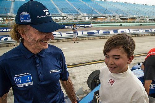 エマーソン・フィッティパルディの息子が13歳でF4をテスト。充実の走行に父も満足げ