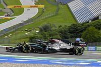 """Hamilton: """"Mercedes sterk, maar neem het met een korreltje zout"""""""