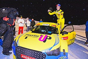 Panis wins Andros Trophy ice racing opener in new electric car