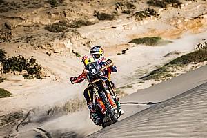 Quintanilla tuvo una caída y Price sumó su segundo Dakar