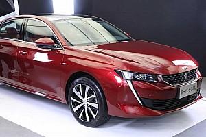 Peugeot 508 «розтягнули» для автошоу в Гуанчжоу
