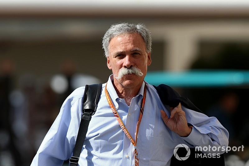 F1-voorman Carey reageert op kritiek: