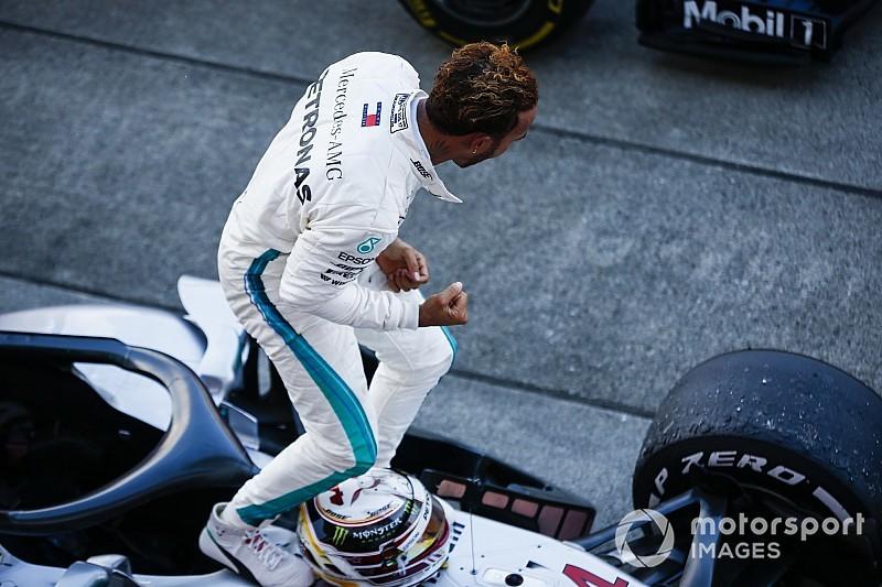 İstatistikler: Hamilton, Mercedes'le 50. kez kazandı