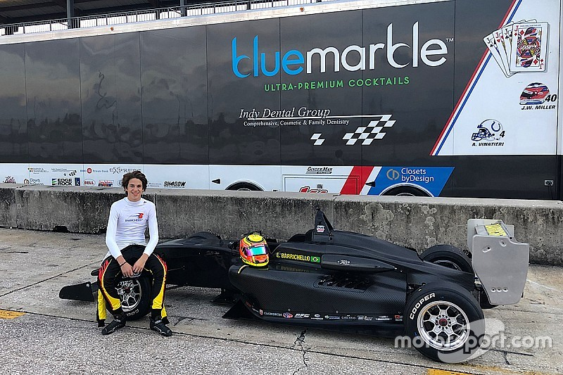 Barrichello's son to race in USF2000 in 2019