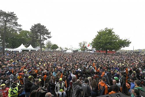 The one positive of MotoGP races without fans