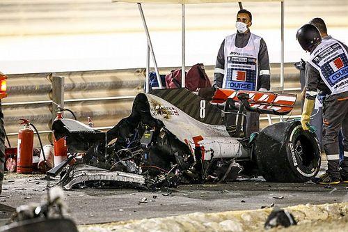 Grosjean n'a jamais vu Kvyat dans son rétroviseur