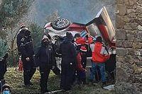 Fuerte accidente de Ogier en un test previo a Montecarlo