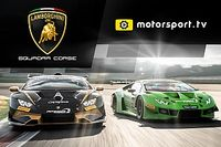 Lamborghini w Motorsport.tv