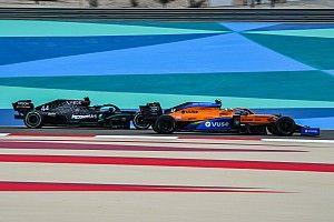 Norris vond kritiek na commentaar over Hamilton in Portugal lastig