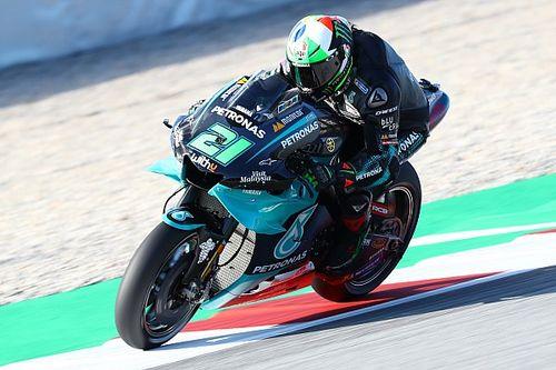 Morbidelli ondanks crash snelste op vrijdag in Barcelona