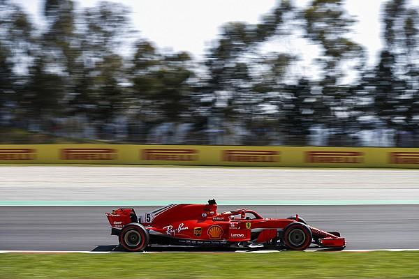 """ハミルトン、フェラーリは""""実力を隠している""""と警戒。タイヤにも言及"""