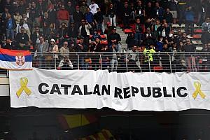 Politikai vita keveredett a Spanyol Nagydíj rajtceremóniájából